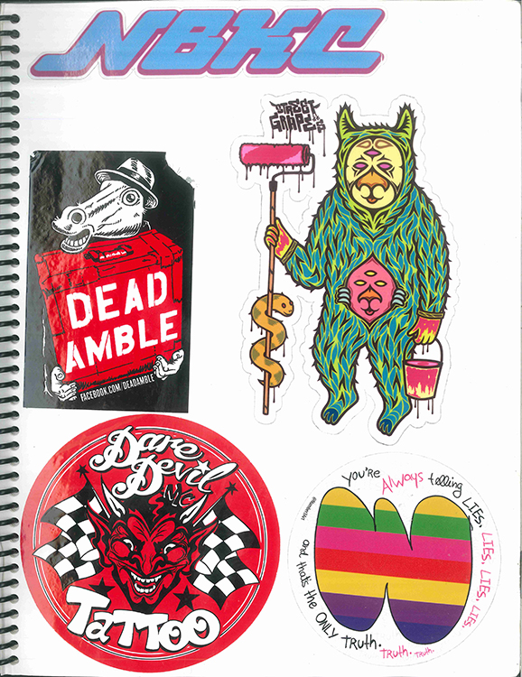 Page #96 - Sticker Collection