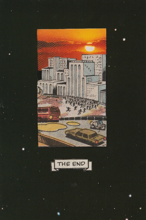 The End (Analog Collage - 5.25 x 3.25 - 2018)