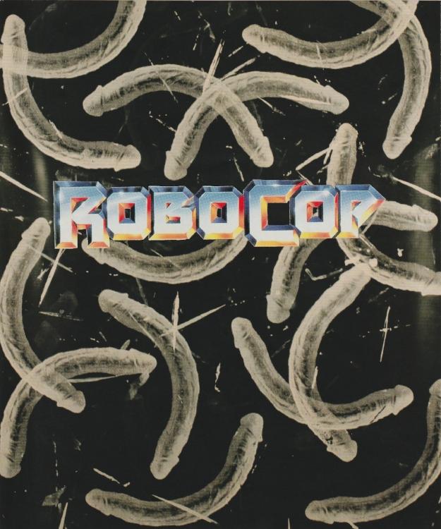 "Robocop (Analog Collage - 2018 - 8"" x 9.5"")"