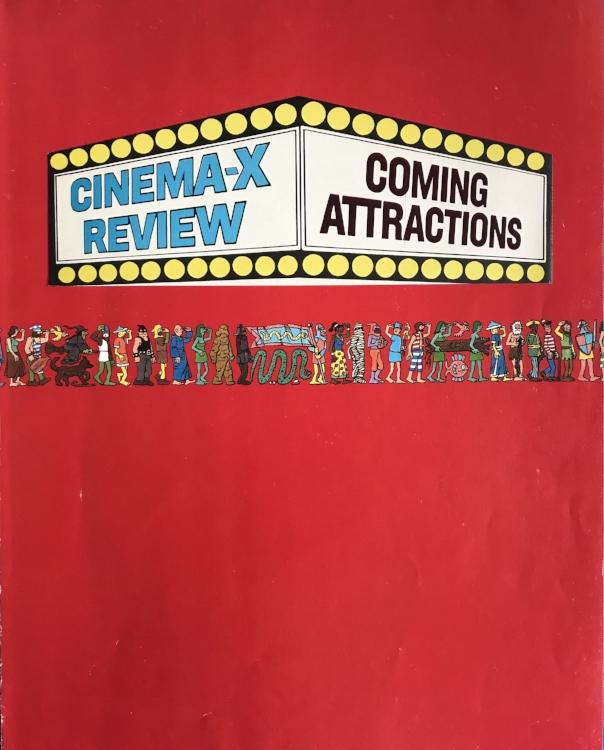 "Waldo Goes to the Movies (Analog Collage - 2017 - 10"" x 12"")"