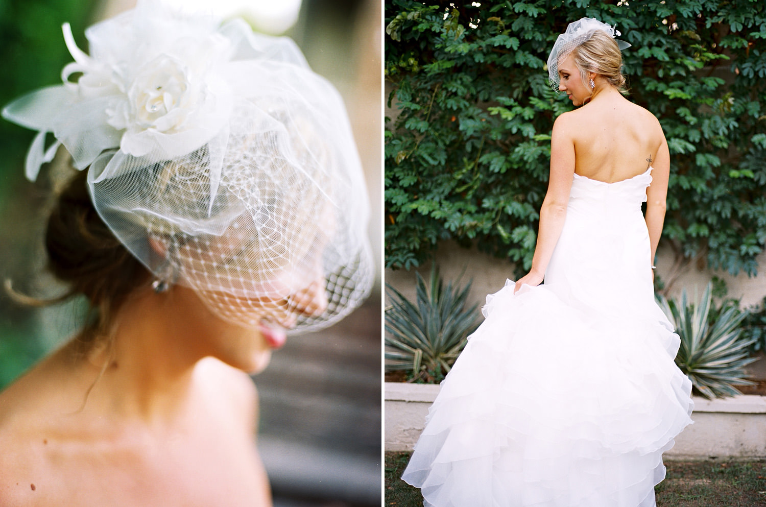 Bridal portrait in Palm Springs, Ca