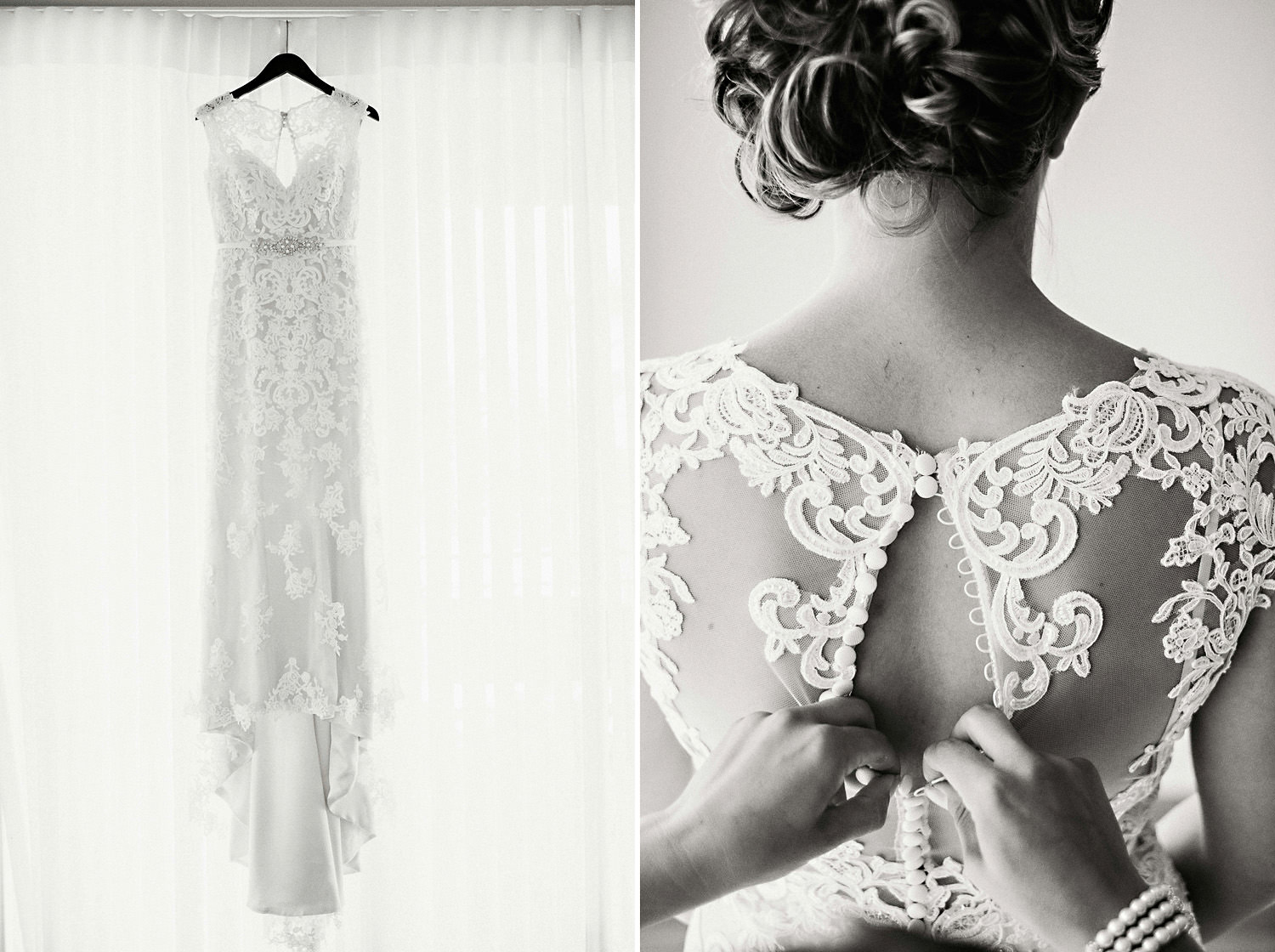 Brides Wedding Dress Details