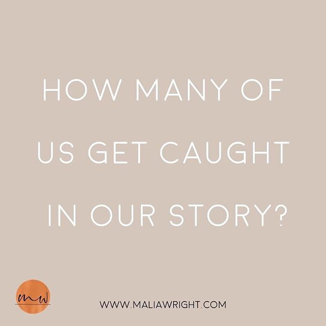 "What is the story we tell ourselves daily? What is the story we repeat subconsciously? The brain has this wild ability to believe whatever we think to be true!⠀ ⠀ So that means when we think we are unworthy, we believe it to be true.⠀ When we think we will always be stuck in a pattern, we believe it to be true.⠀ When we think that we can't find love, we believe it to be true.⠀ ⠀ I mean really, the list can go on! Somehow our culture has become really good at this. 🤔⠀ ⠀ So how many of us get caught in our story?🙋🏽‍♀️⠀ ⠀ The best love we can give ourselves is awareness. Awareness of what is real, what is true, what are the stories, and what is coming from a place of wholeness. ⠀ ⠀ When I am caught in a spiral, I ask myself, is this coming from the highest version of myself (what I love to call, BIG SELF) or from the lowest version of myself (little self). ⠀ ⠀ More times than not, it is coming from the little self and I ask myself, what would BIG Malia do? How would she act, how would she process, how would she feel?⠀ ⠀ So, friend, move through your story and ask yourself, ""What would BIG me do?"" comment below so we can lift each other up! ❤️"