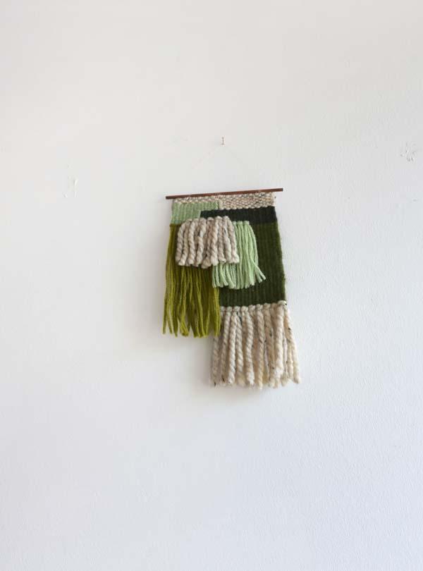 One of Hillary's weavings up in Enamel.