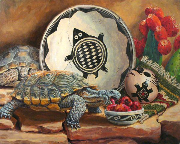 Savory Summer - Tortoises & Nopales