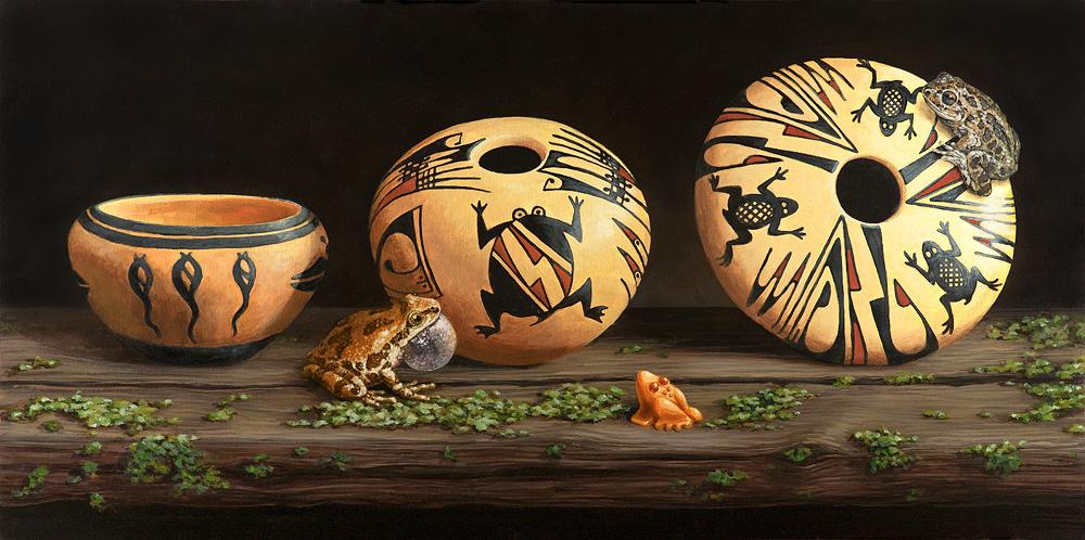 Sonoran Frog Pot Trio