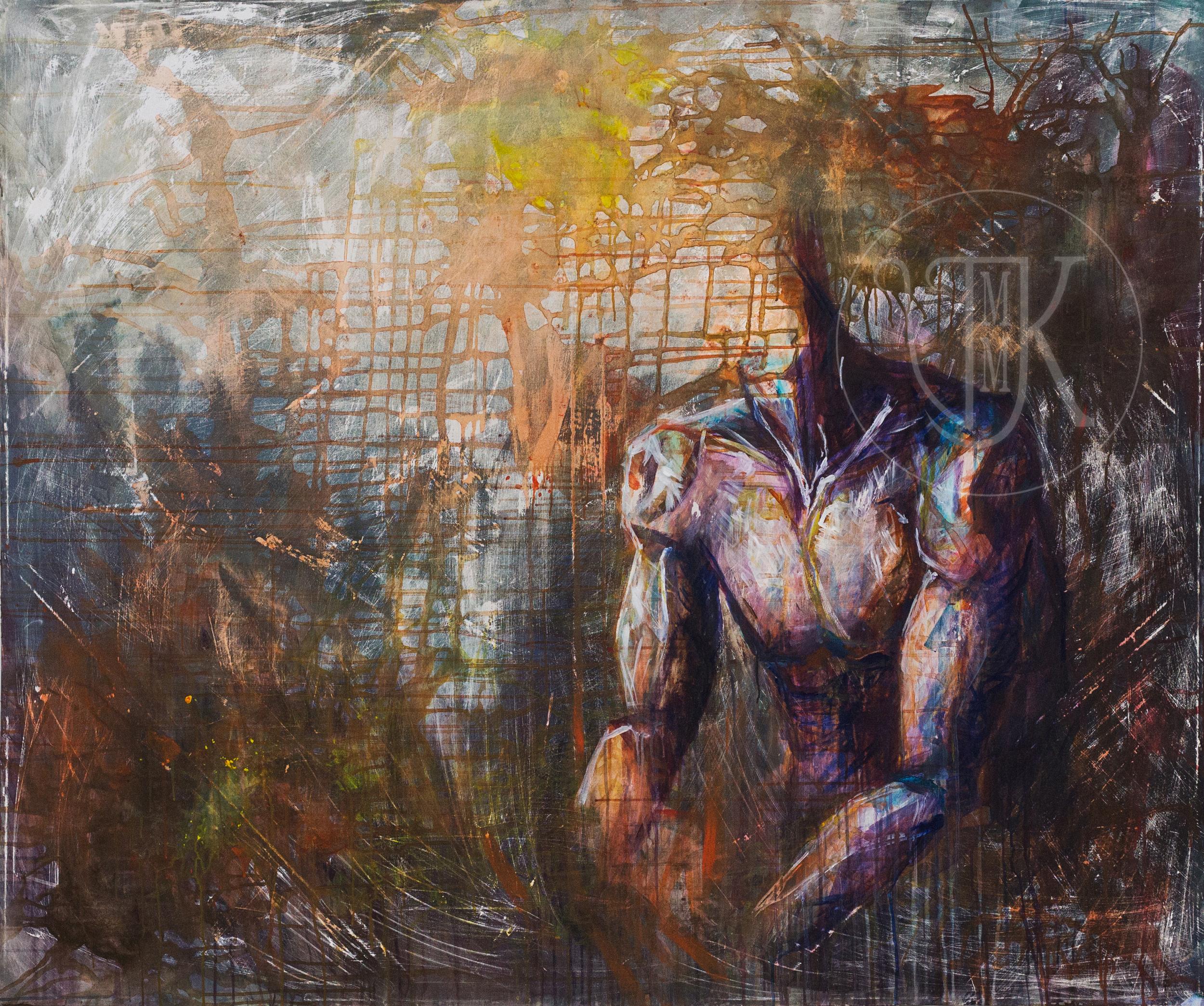 Acrylic on Canvas, 180 x 150 cm, 2016