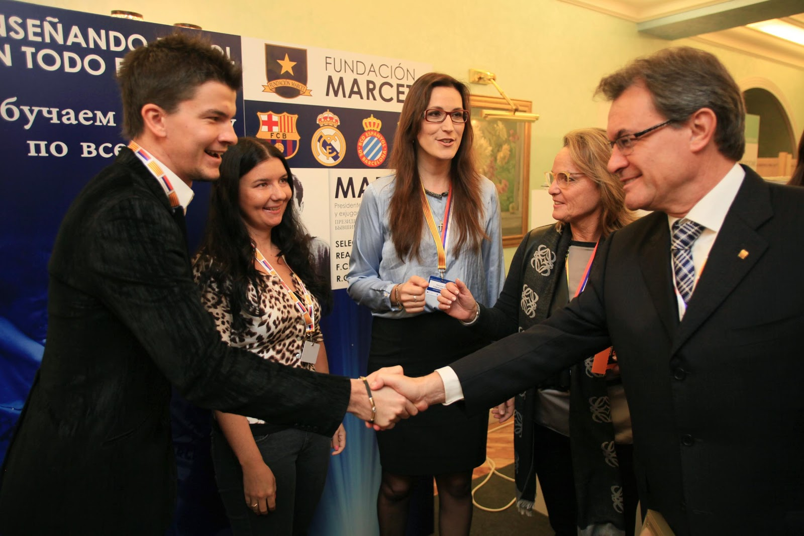 SportCampTravel with Marcet Soccer Foundation at Catalunia-Russia Relations Forum in Moscow