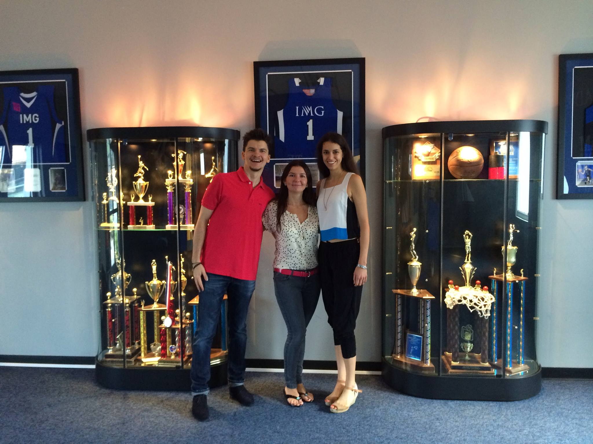 SportCampTravel at the IMG Hall of Fame