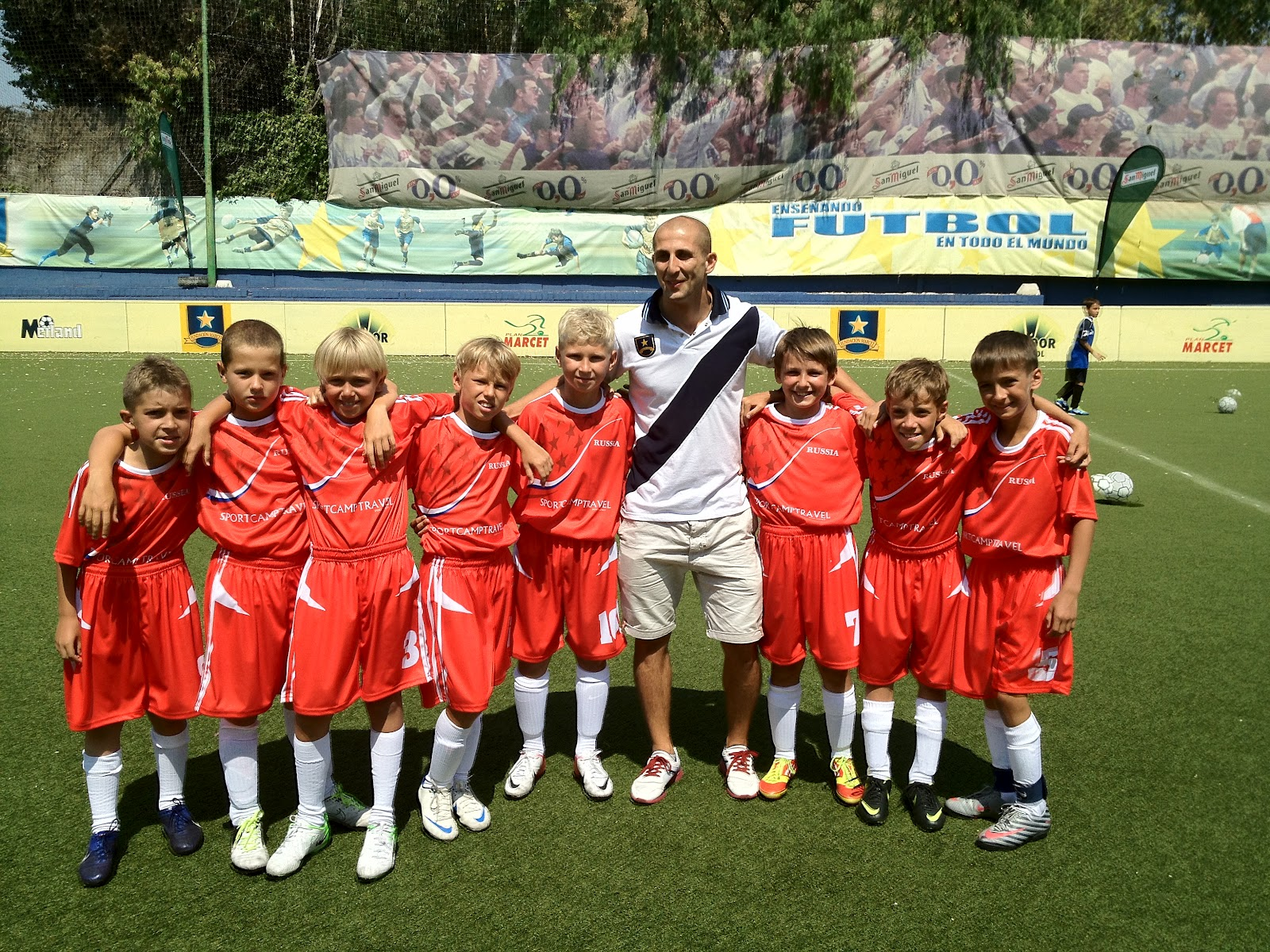 SportCampTravel Sponsored Team at the European Junior Championships in Barcelona