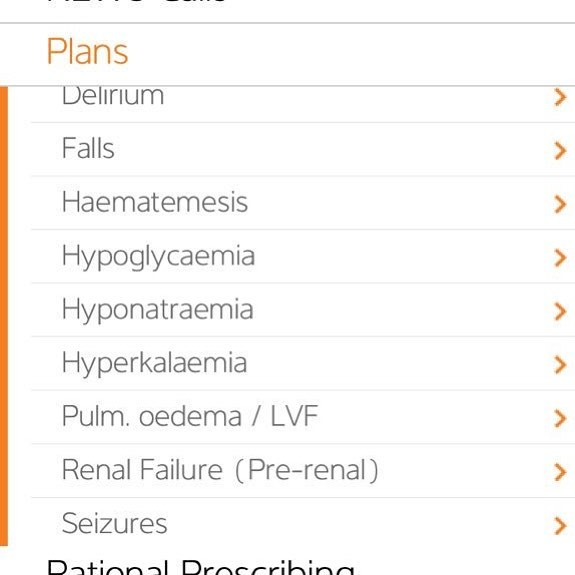#Falls #Hyponatraemia would always make me slightly nervous #oncall or in my #dayjob. Still do. #PocketDr can help structure your approach to dealing with such problems. Hyponatraemia I always seem to have to look up 👀😳 - still use PocketDr to remind me the plan!