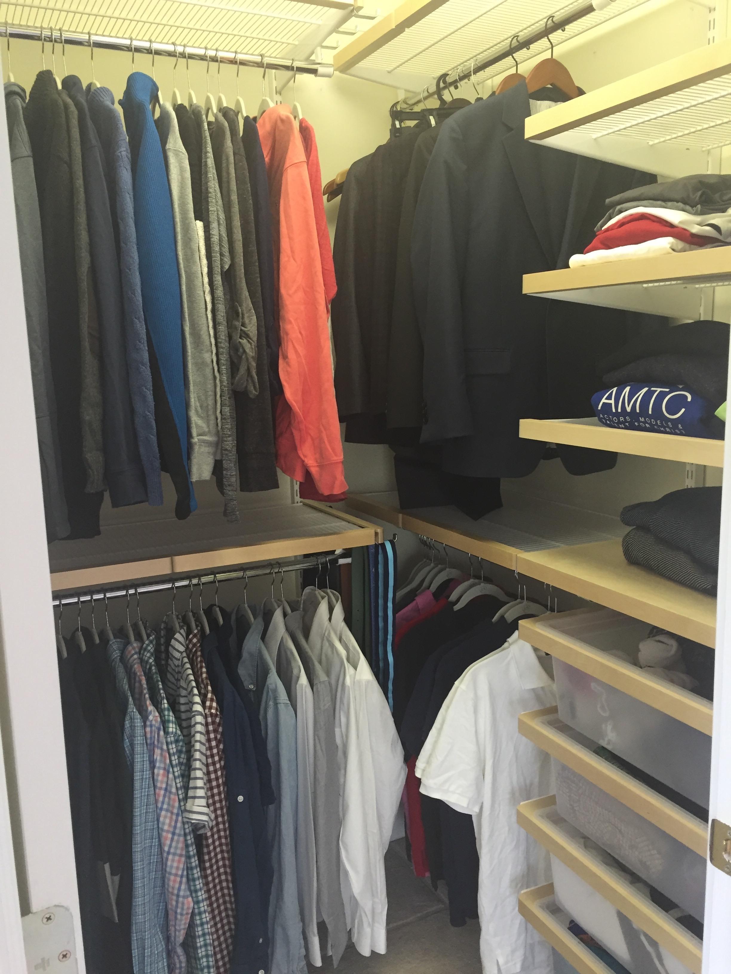 Teen's Closet After