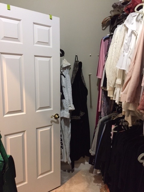 Fashionista Closet Before
