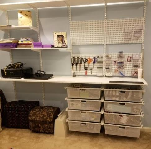 Crafts Room After