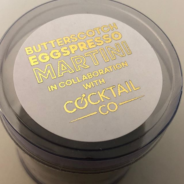 Not gonna lie, I reckon this is happening in about 2 hours from now... @cocktailco.au @bakedowncakery #eggspresso #martini