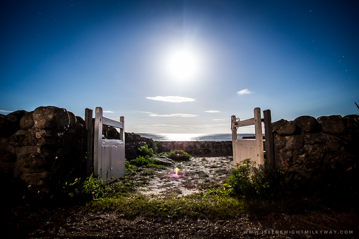 """Gates To Heaven"" Steephill Private Garden    Image by Chad Powell     www.isleofwightmilkyway.com"
