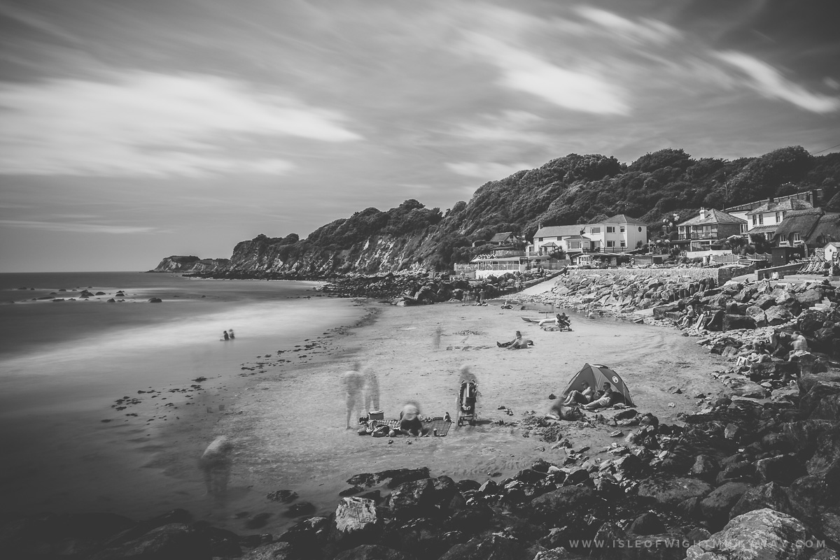 """Ghosts of Steephill Cove""   Image by Chad Powell     www.isleofwightmilkyway.com"