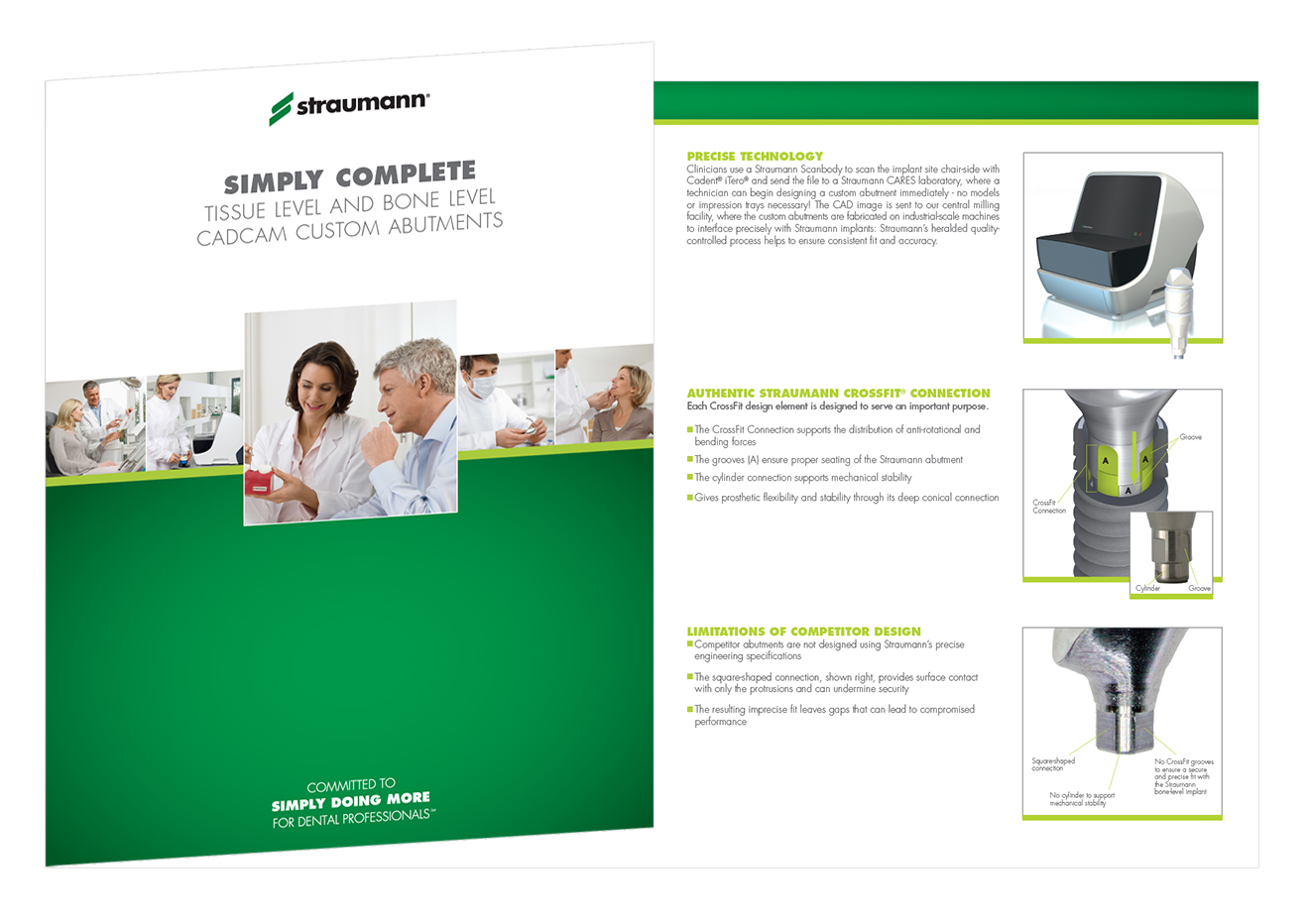Simply Complete Straumann Product Brochure