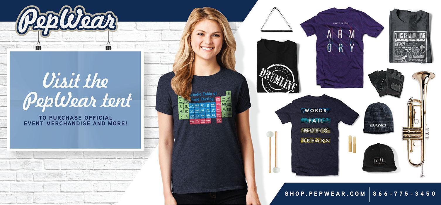 Copy of PepWear Merchandise