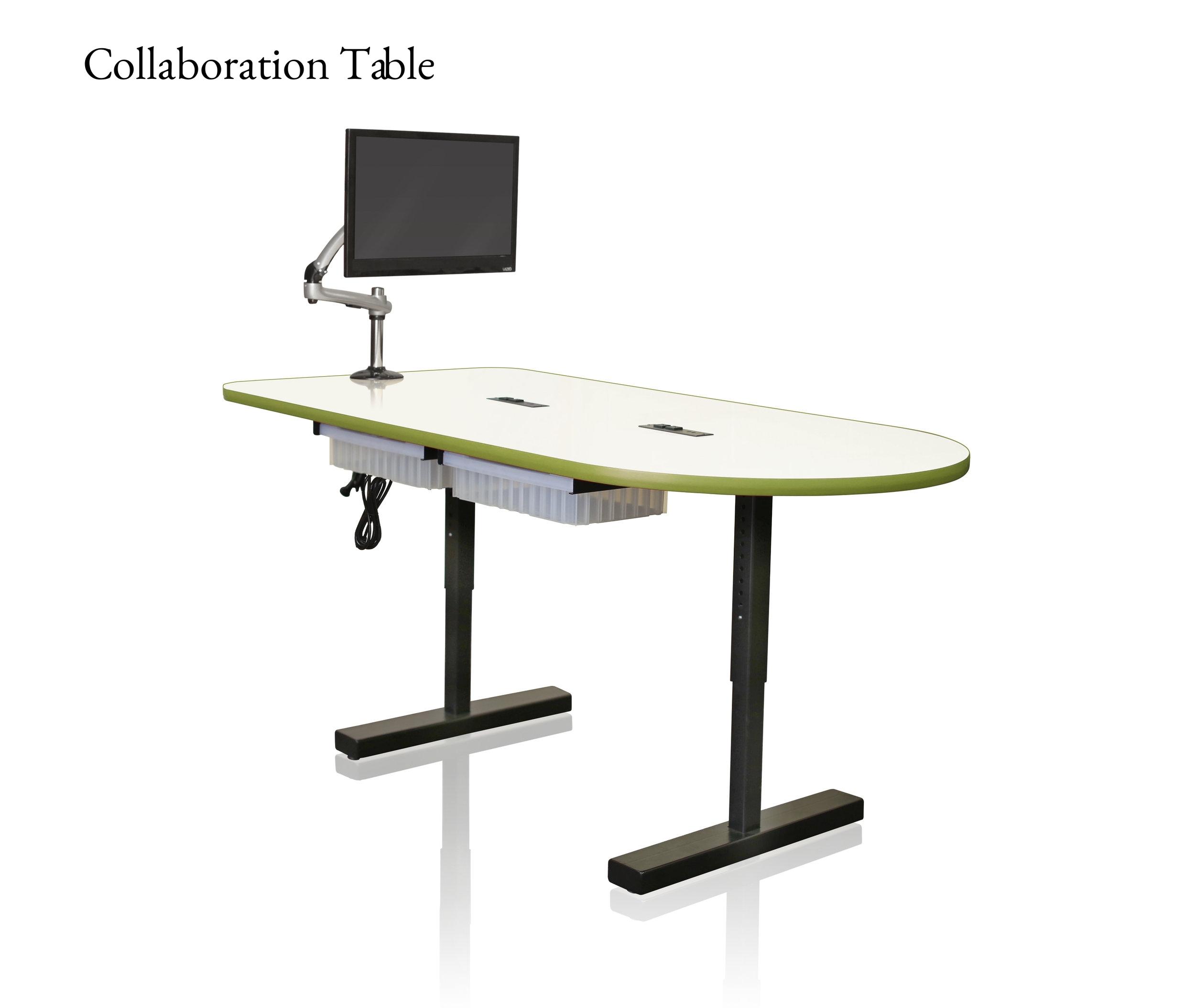 CEF Collaboration Table