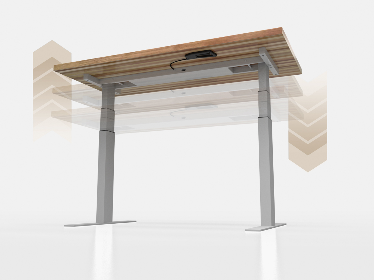 Sit to Stand Base - Our new sit to stand height adjustable pneumatic base has mastered the balancing act! Mounted to the 72