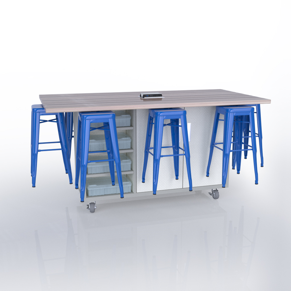 CEF Ed8 in Dogbone White with Royal Blue Stools.jpg