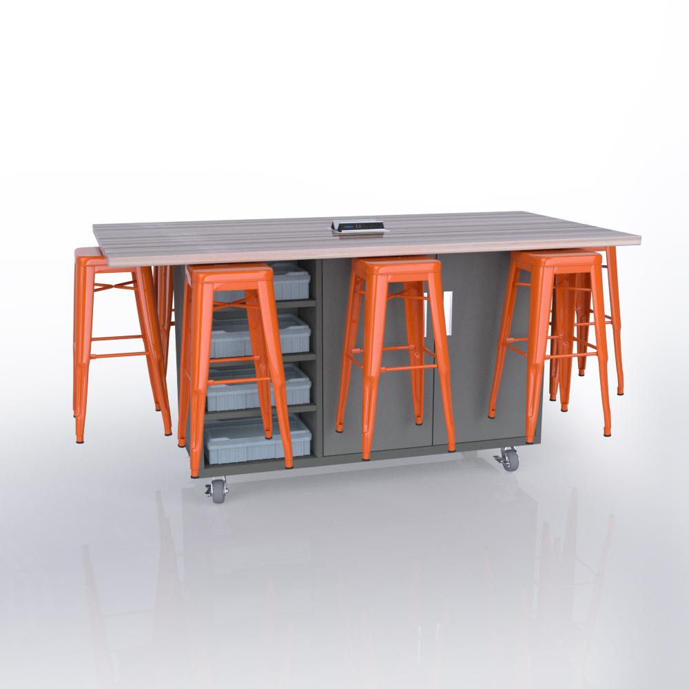 CEF Ed8 in Northsea Grey with Orange Stools JPEG.jpg