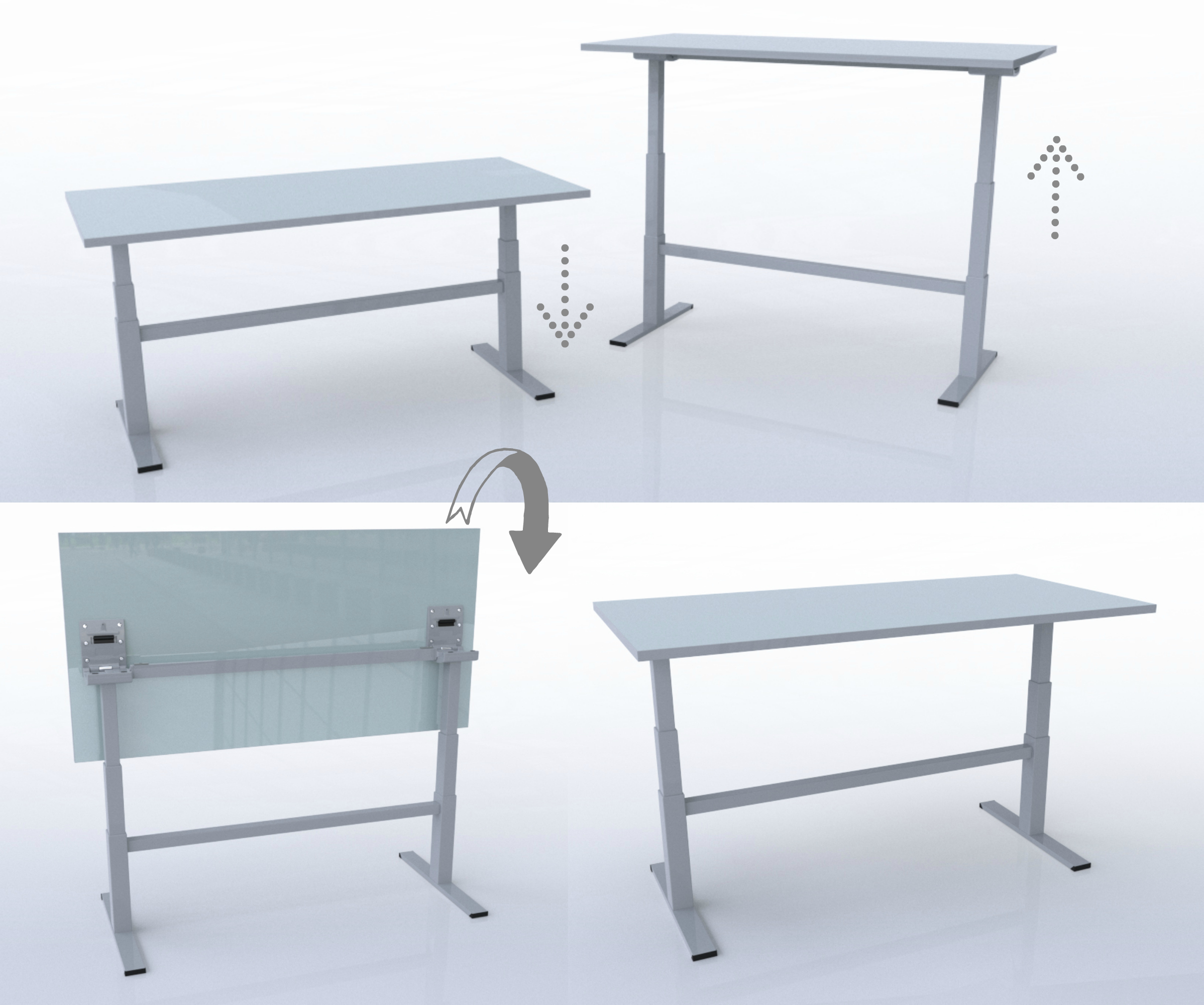 HATT-Height Adjustable Tilt Table - Assembly Instructions