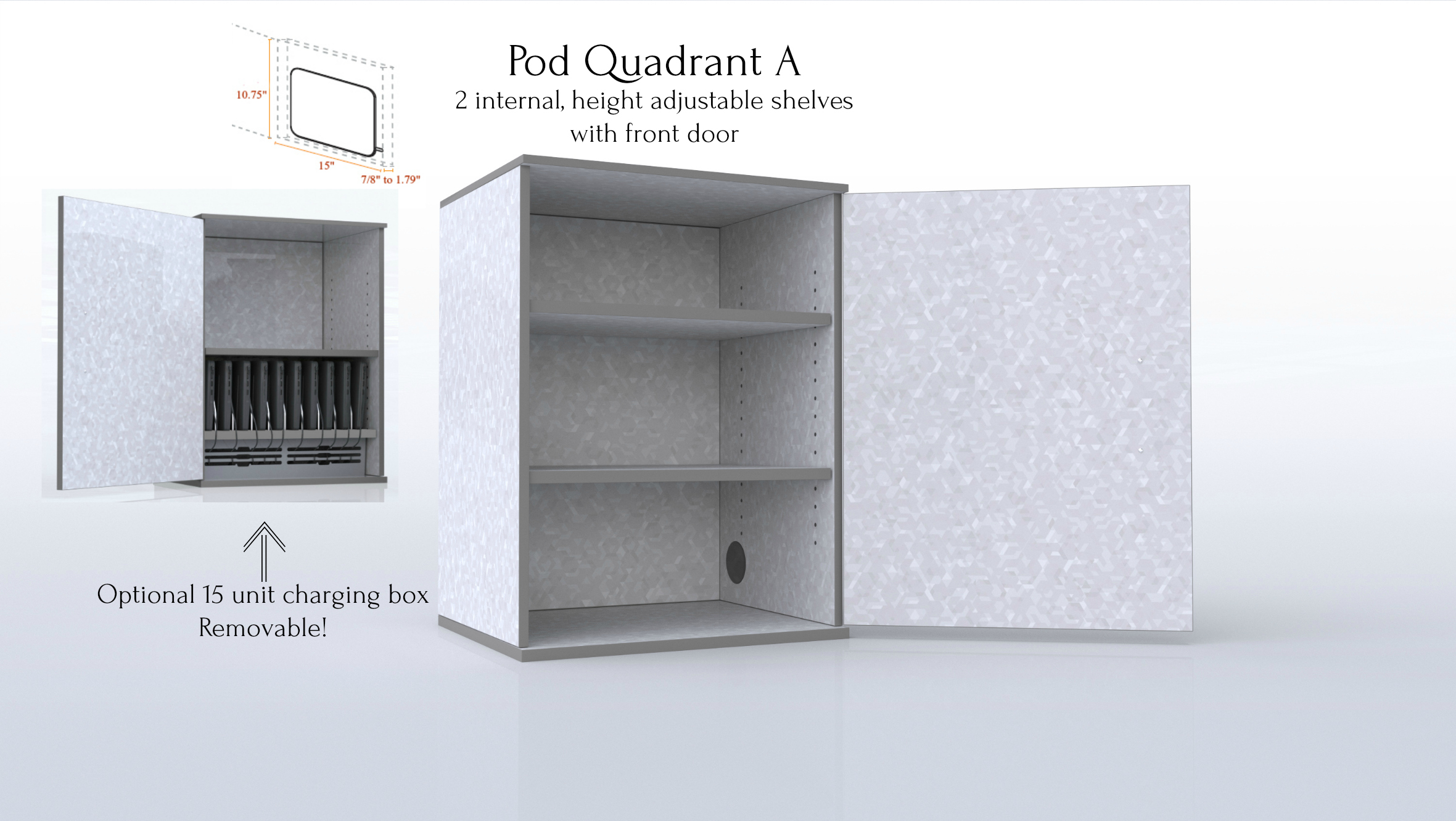 CEF Pod Quadrant A with Optional Charging Box plus device dimensions.jpg