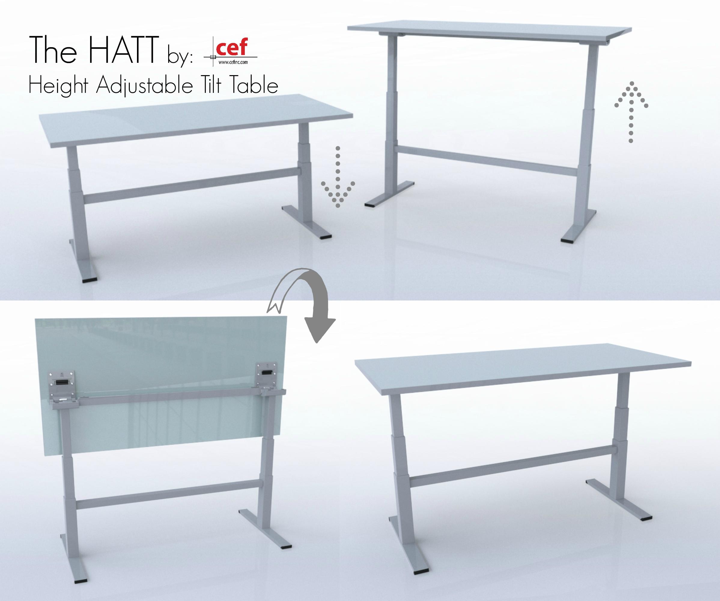 CEF HATT-(Height Adjustable Tilt Table)