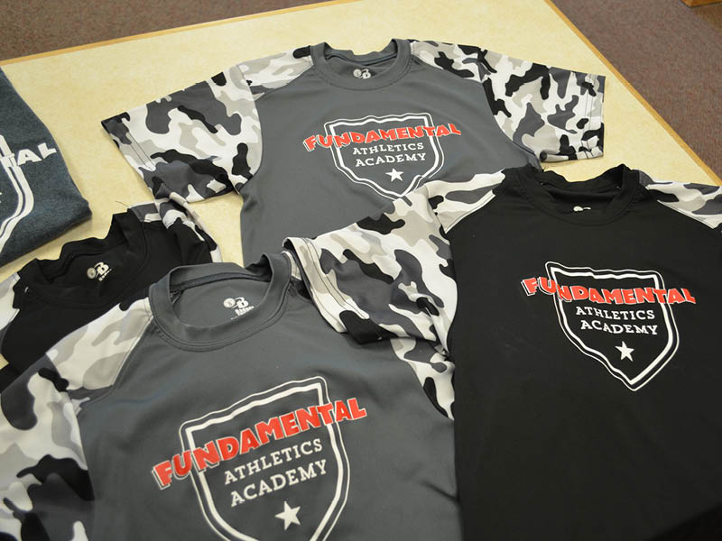 t-shirt design for FUNdamental Athletics Academy
