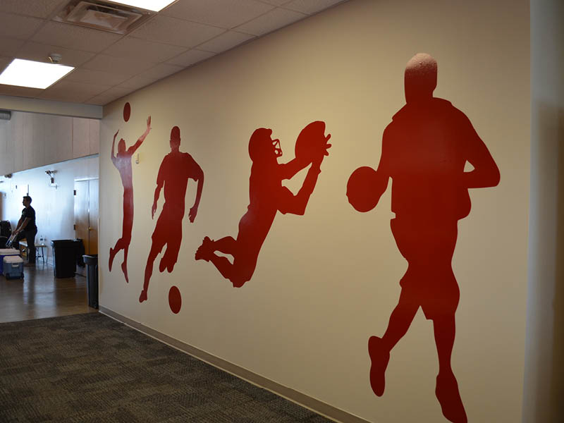 gym wall art