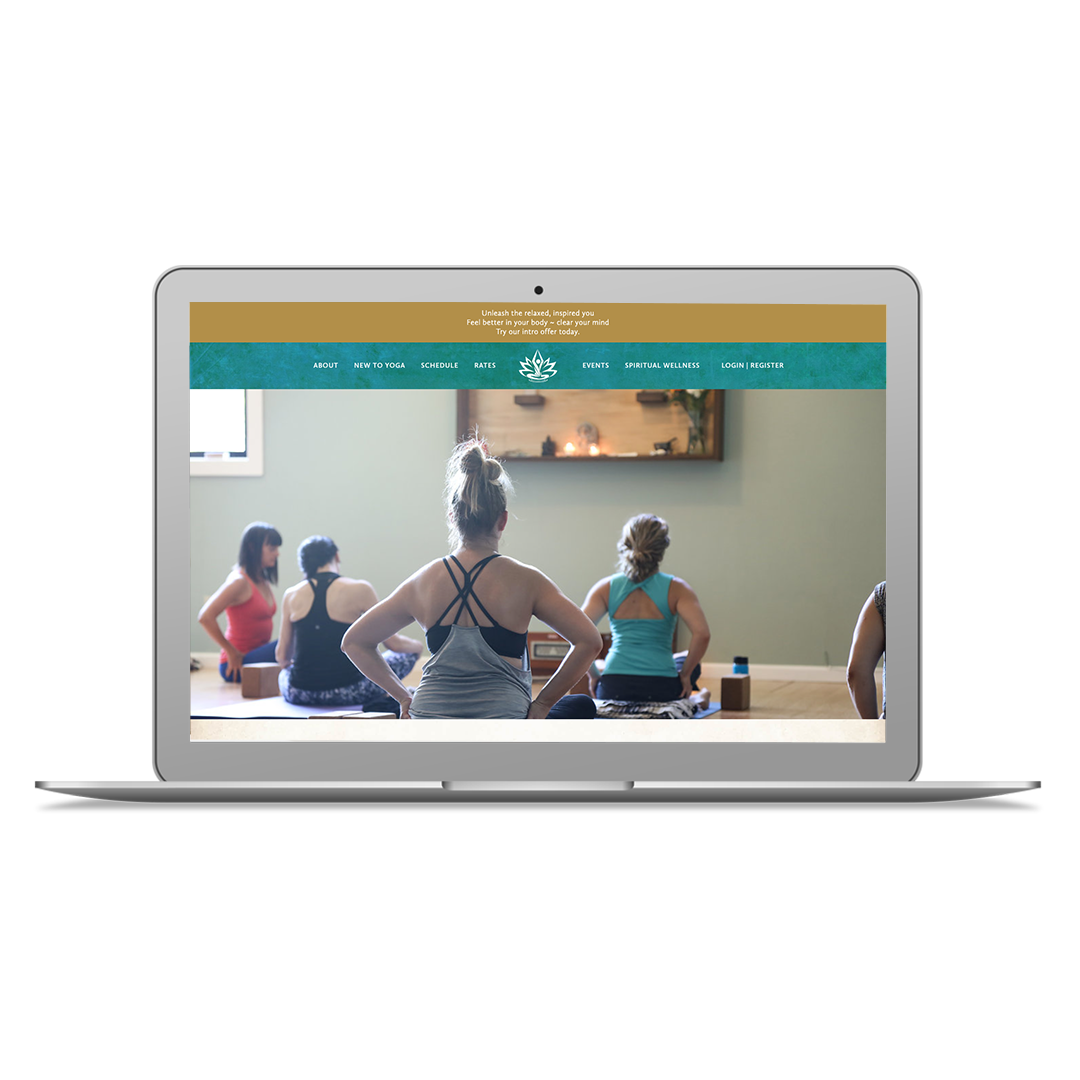 Project Summary - Sukha is a yoga sanskrit term that means ease, happiness, bliss and good space. Studio owner, Bethany wanted a welcoming, genuine and peaceful website design to match the vibe of their studio space. She also needed her studio scheduling software cleanly integrated into the new design.