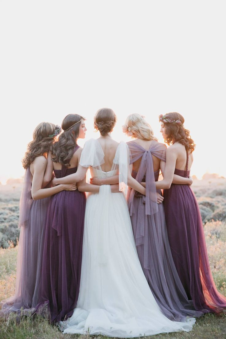 Photo by This Modern Romance for Jenny Yoo Bridal Collection