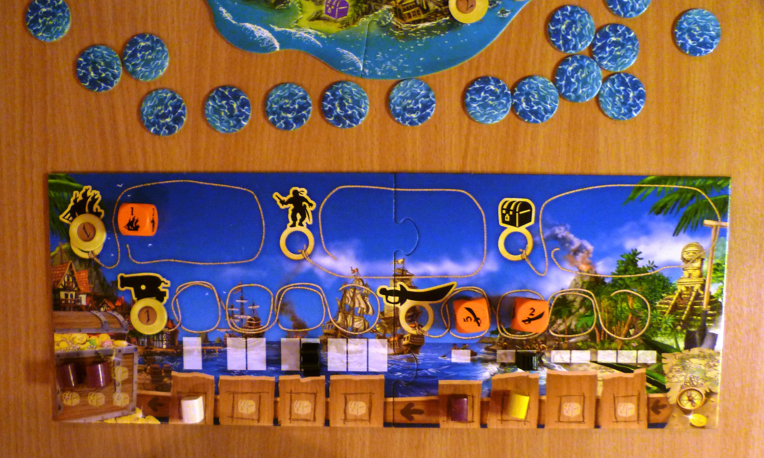 Tortuga players board