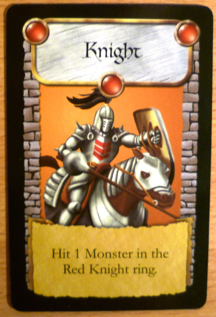 Knight card in Castle Panic