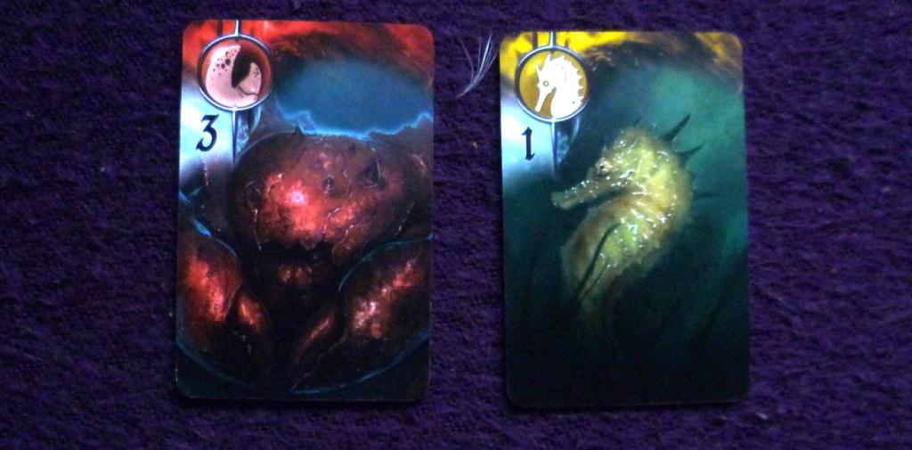 A couple of the cash cards in Abyss