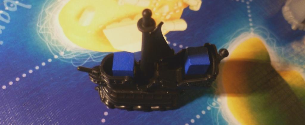 Ship with Cargo