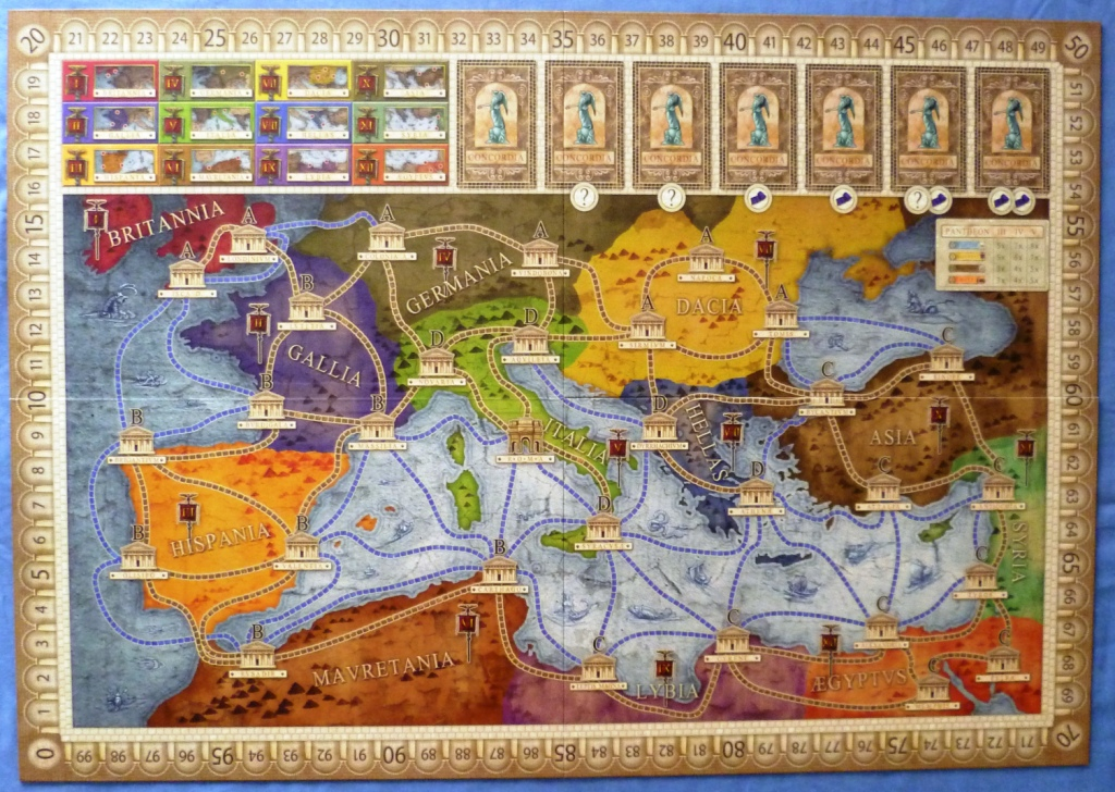 One of the several boards available for Concordia