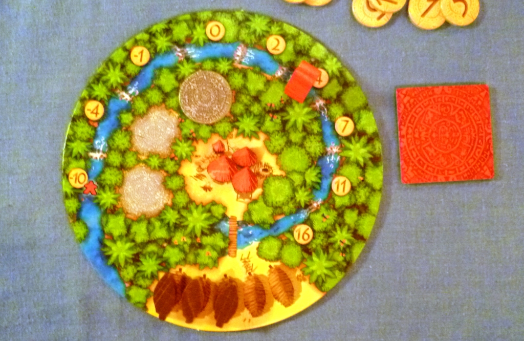 Your village can only store 3 coins, in a 4 player game you need tofill all 3 coin stores.