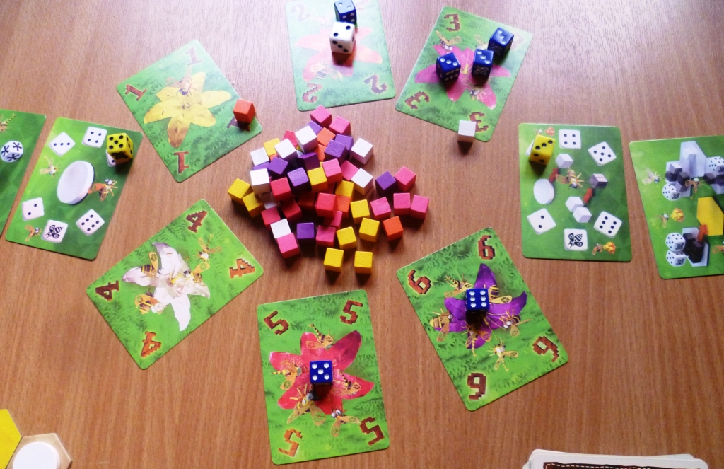 Pollen collecting in Waggle Dance
