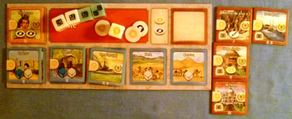 The Roman players civilization and accomplishments at the games end