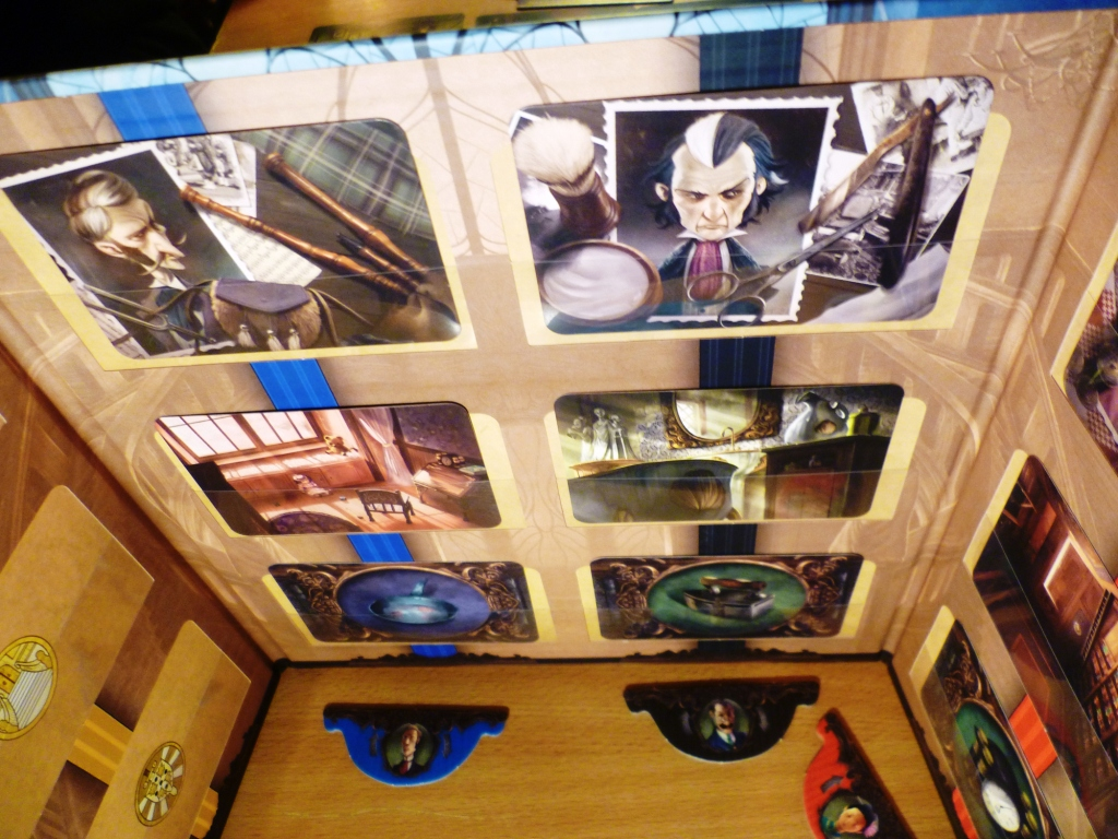 The ghosts board in Mysterium
