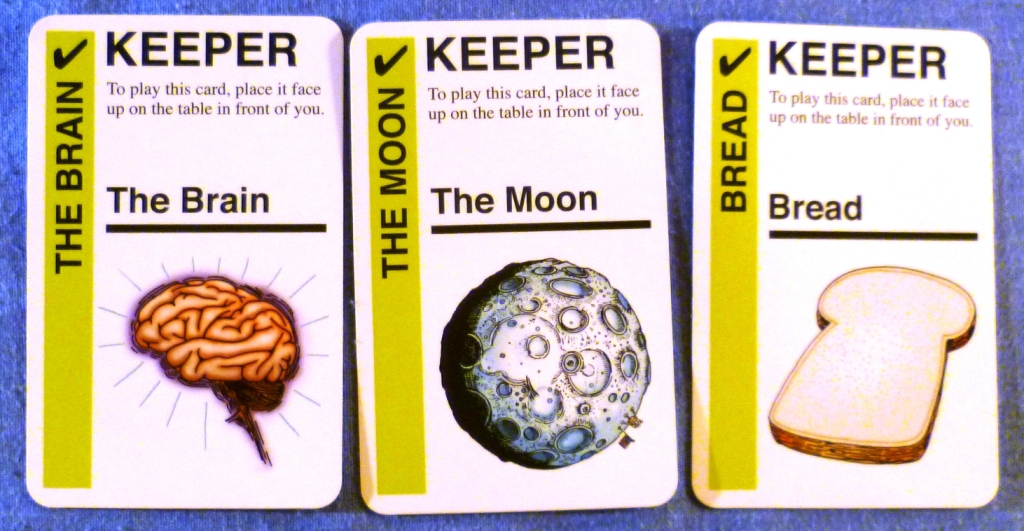 Three of my keepers (cards you need to make goals)