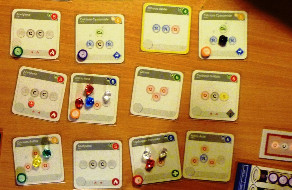 Some of the compounds in play