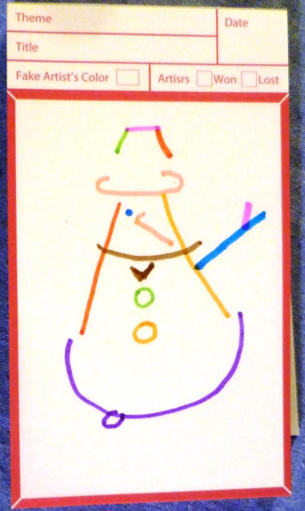 Snowman (ish)