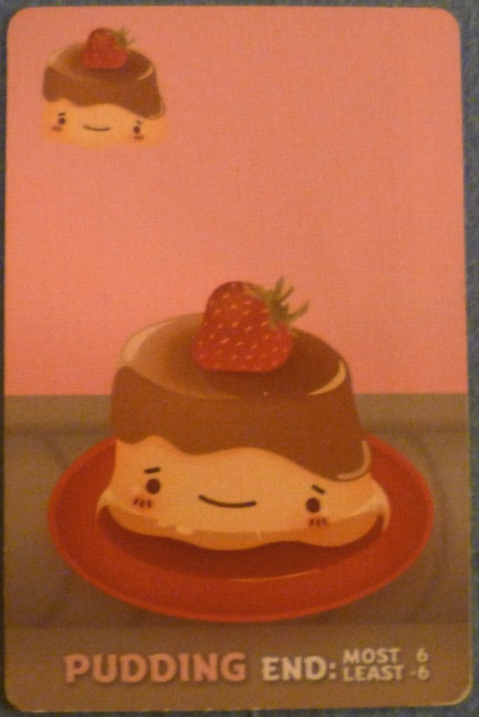 One of the Pudding cards we were all looking for in the 3rd round