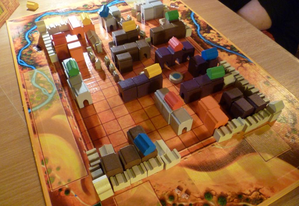 The new Medina with nice chunky blocks