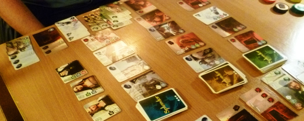 A 2 player game of Splendor