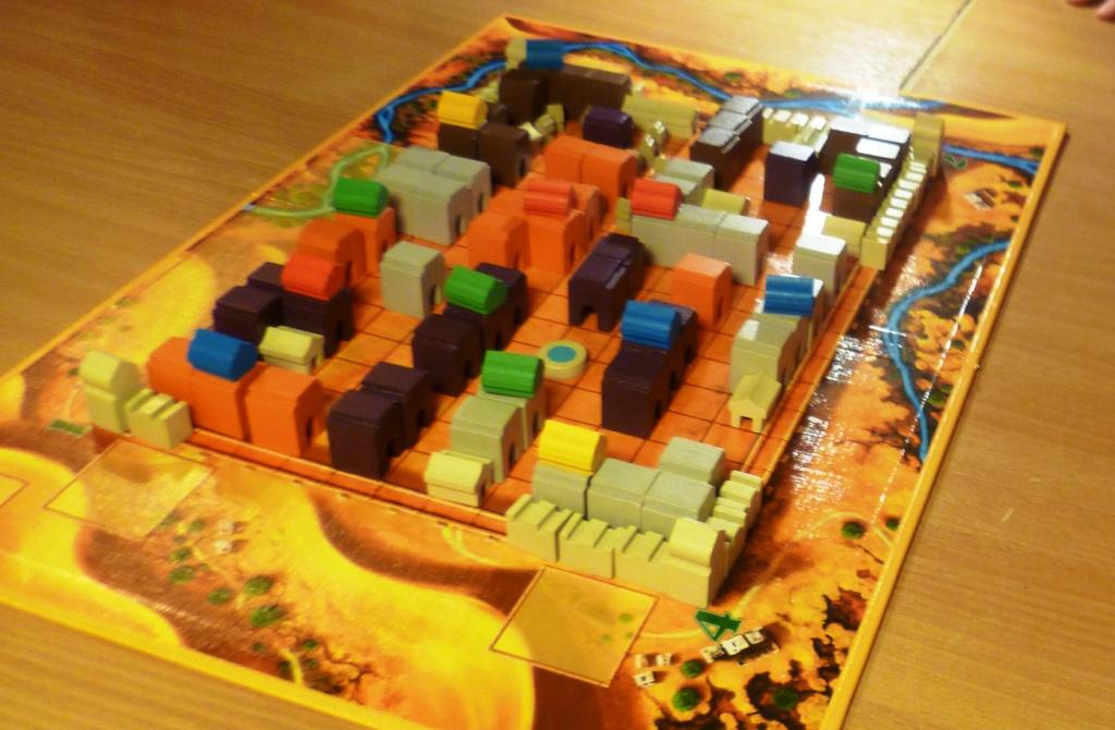 Medina, towards game end